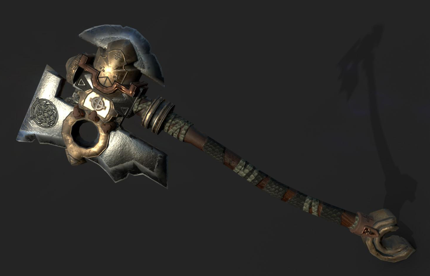 Design Layout 3d Axe